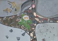 Marija-Weiss--Dr-Pflanzen-Blumen-Gefuehle-Moderne-expressiver-Realismus