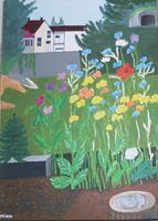 Marija-Weiss--Dr-Landschaft-Pflanzen-Moderne-expressiver-Realismus