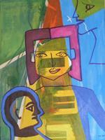 Marija-Weiss--Dr-Menschen-Gesichter-Menschen-Frau-Moderne-Abstrakte-Kunst