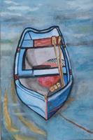 Marija-Weiss--Dr-Landschaft-See-Meer-Landschaft-Moderne-expressiver-Realismus