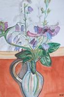 Marija-Weiss--Dr-Pflanzen-Blumen-Stilleben-Moderne-expressiver-Realismus