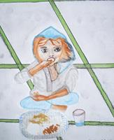 Marija-Weiss--Dr-Menschen-Kinder-Gefuehle-Freude-Moderne-expressiver-Realismus