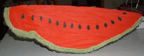 Marija Weiss, Dr., Wassermelone, Pflanzen: Früchte, Natur, Gegenwartskunst