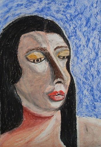 Marija Weiss, Dr., Markantes  Gesicht, Menschen, Menschen: Gesichter, expressiver Realismus