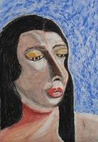 Marija-Weiss--Dr-Menschen-Menschen-Gesichter-Moderne-expressiver-Realismus