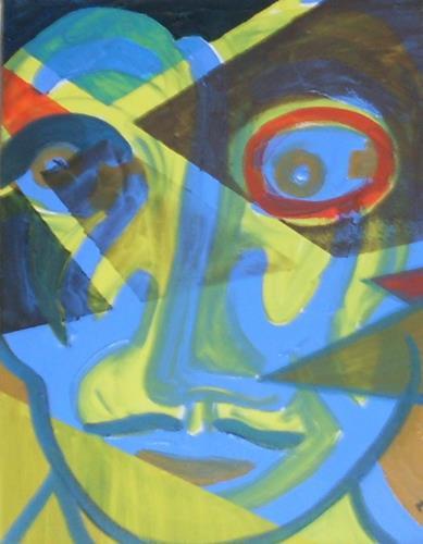 Marija Weiss, Dr., Mann, Menschen: Mann, Menschen: Gesichter, expressiver Realismus