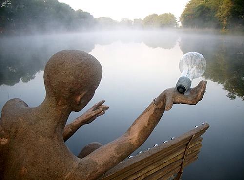 BERTOLOMEOS, LandART - BERTOLOMEOS, Landschaft: See/Meer, Natur: Wasser, Land-Art, Expressionismus