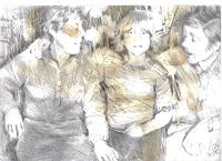 diemalerin-connystark-Menschen-Familie-Menschen-Kinder-Gegenwartskunst--Gegenwartskunst-