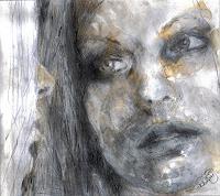 diemalerin-connystark-Menschen-Frau-Menschen-Portraet-Gegenwartskunst--Gegenwartskunst-