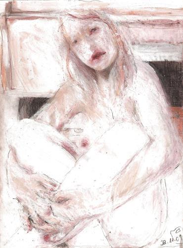 diemalerin-connystark, gesichtete Verletzung, Menschen: Frau, Diverse Gefühle, Gegenwartskunst, Abstrakter Expressionismus