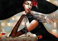 I. Tsantekidou, Fleur Rouge, 70x100
