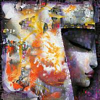 Ira Tsantekidou, Dreaming Goddess, 100x100