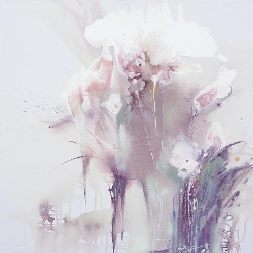 Ira Tsantekidou, Flowers 4, 150x150, Pflanzen: Blumen, Art Déco, Expressionismus