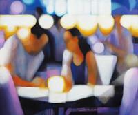 Ira-Tsantekidou-Menschen-Paare-Essen-Moderne-Abstrakte-Kunst