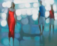Ira-Tsantekidou-Menschen-Gruppe-Moderne-Abstrakte-Kunst