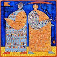 Wlad-Safronow-Menschen-Gruppe-Dekoratives
