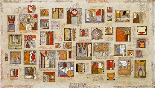 Wlad Safronow, Geschichten und Erzählungen, 80x140, Geschichte, Symbol, Expressionismus