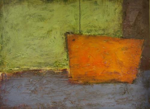Sigrun Laue, auf großer Fahrt, Bewegung, Arbeitswelt, Abstrakte Kunst, Expressionismus