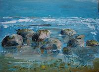 Sigrun-Laue-Landschaft-Landschaft-See-Meer-Moderne-Abstrakte-Kunst