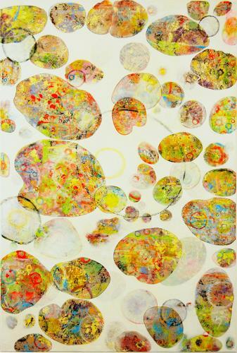 iris völzmann-handke, earthsong VI, Abstraktes, Abstraktes, Gegenwartskunst, Expressionismus
