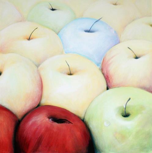 Jutta Mohorko, Der Einzige seiner Art, Pflanzen: Früchte, Abstrakte Kunst, Expressionismus