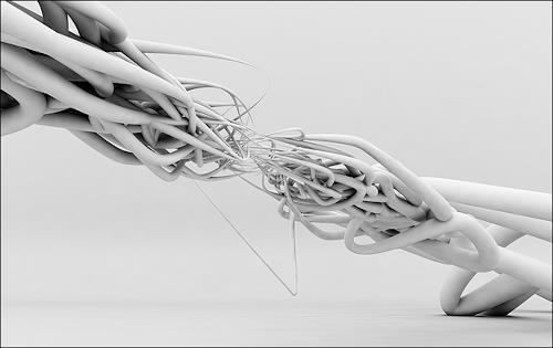 humanchaos, Life, Menschen: Mann, Technik, Gegenwartskunst