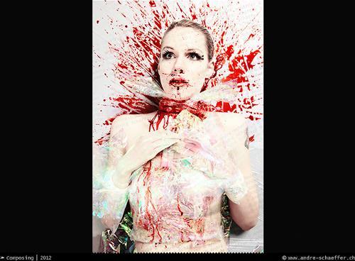 André Schäffer, Photography 01 - 2012, Gesellschaft, Tod/Krankheit, Pop-Art, Abstrakter Expressionismus