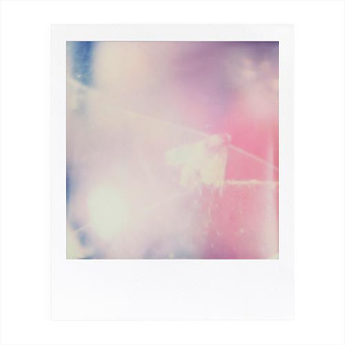 André Schäffer, Polaroid Nr. 45, Stilleben, Gefühle: Trauer, Abstrakte Kunst