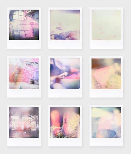 André Schäffer, Polaroidset 02 - 2019, Stilleben, Poesie, Abstrakte Kunst