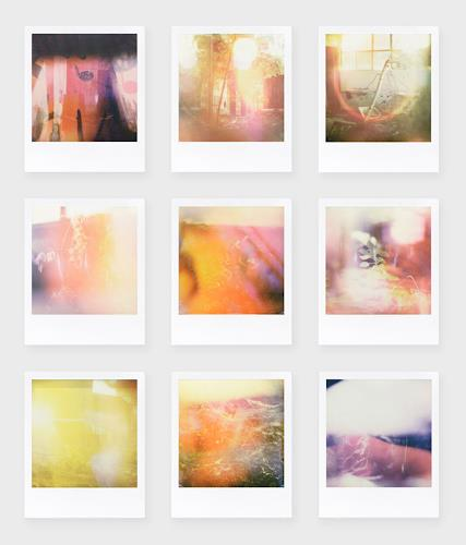 André Schäffer, Polaroidset 03 - 2019, Poesie, Stilleben, Abstrakte Kunst