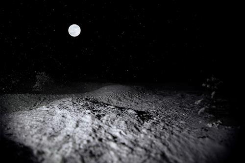 André Schäffer, Dreamscape 09 / 2016, Poesie, Landschaft: Winter, Abstrakte Kunst