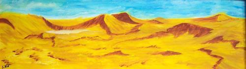 Susanne Köttgen, Namib-Wüste, Landschaft: Hügel, Landschaft: Sommer, Naturalismus