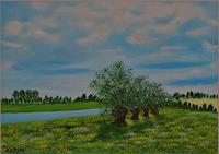 Susanne-Koettgen-Pflanzen-Baeume-Landschaft-See-Meer-Neuzeit-Realismus