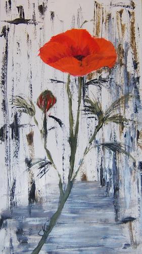 Susanne Köttgen, Mohnblume, Pflanzen: Blumen, Moderne