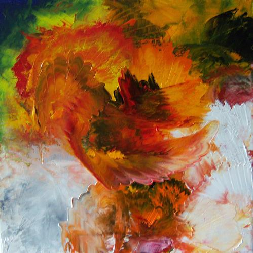 Susanne Köttgen, Farbenspiel, Abstraktes, Abstrakte Kunst