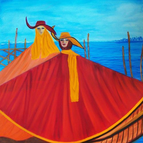 Susanne Köttgen, Karneval in Venedig, Karneval, Menschen: Paare, Realismus