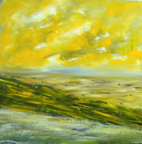 Susanne Köttgen, Wirklichkeit, Landschaft: Ebene, Landschaft: Tropisch, Realismus, Abstrakter Expressionismus