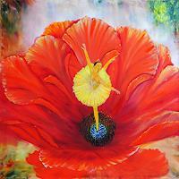 Susanne-Koettgen-Pflanzen-Blumen-Fantasie-Moderne-Moderne
