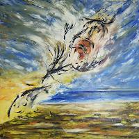 Susanne-Koettgen-Landschaft-See-Meer-Fantasie-Moderne-Expressionismus
