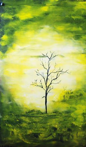 Susanne Köttgen, Mein Freund der Baum II, Abstraktes, Pflanzen: Bäume, Moderne