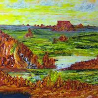 Susanne-Koettgen-Landschaft-Berge-Natur-Gestein-Neuzeit-Realismus