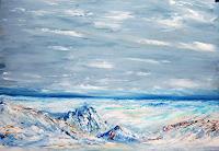 Susanne-Koettgen-Landschaft-Winter-Natur-Gestein-Moderne-Moderne