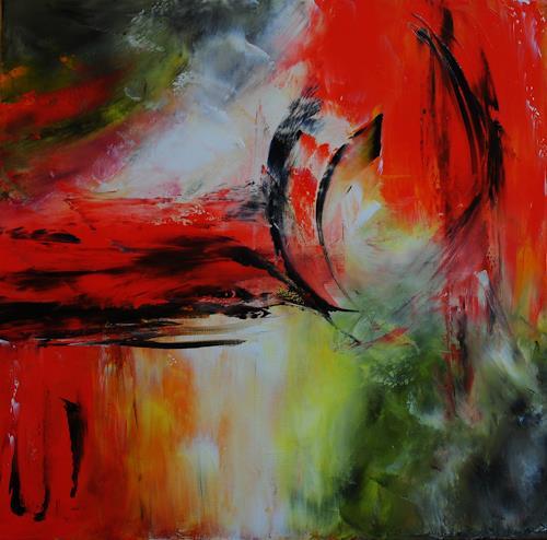 Susanne Köttgen, Zufriedenheit, Abstraktes, Moderne