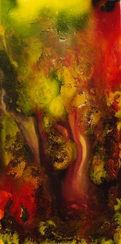 Susanne Köttgen, Indian summer, Abstraktes, Abstrakter Expressionismus