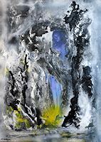 Susanne-Koettgen-Abstraktes-Menschen-Frau-Moderne-Expressionismus-Abstrakter-Expressionismus