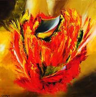 Susanne-Koettgen-Pflanzen-Blumen-Moderne-Expressionismus-Abstrakter-Expressionismus
