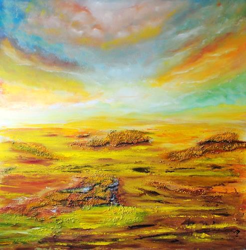 Susanne Köttgen, Vegetationslos, Landschaft: Tropisch, Moderne, Expressionismus