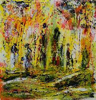 Susanne-Koettgen-Menschen-Gruppe-Mythologie-Moderne-Expressionismus-Abstrakter-Expressionismus