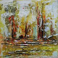Susanne-Koettgen-Landschaft-Ebene-Abstraktes-Moderne-Expressionismus-Abstrakter-Expressionismus