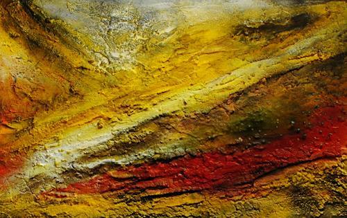 Susanne Köttgen, Steine, Landschaft, Abstraktes, Abstrakter Expressionismus